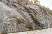 Barron Mountain Rock Cut